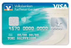 "Kreditkarten: Motiv ""Sandstrand"""